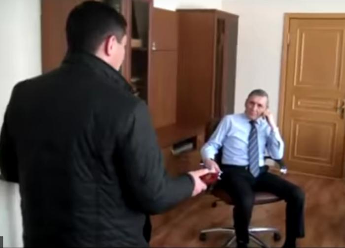 Закирьянов в момент задержания