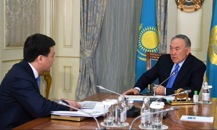 назарбаев и бекетаев