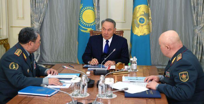 Назарбаев и Жасузаков