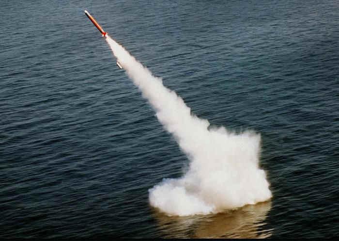 Потерритории Сирии было выпущено 59 крылатых ракет «Томагавк»