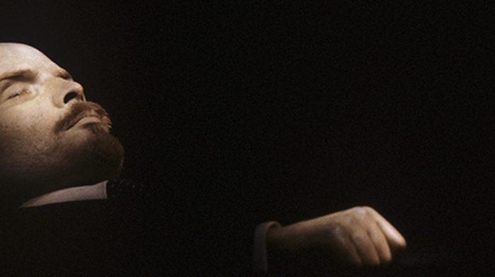 В. И. Ленин в Мавзолее