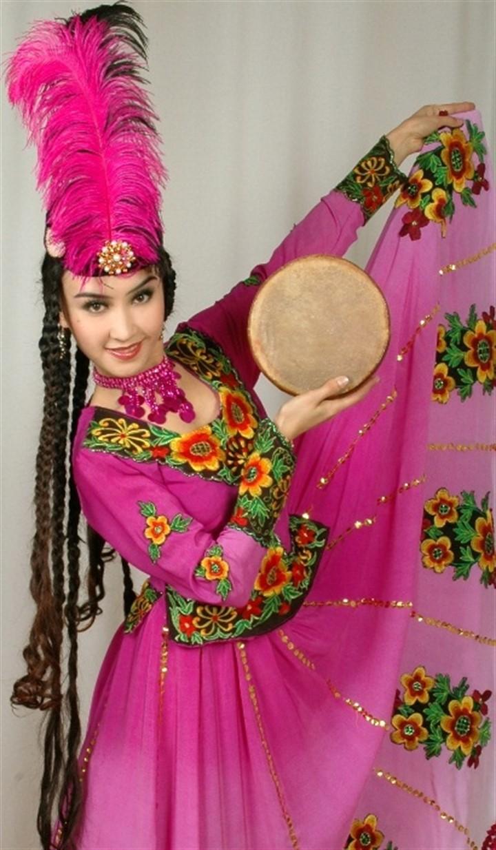 уйгурские платья фото выбрал