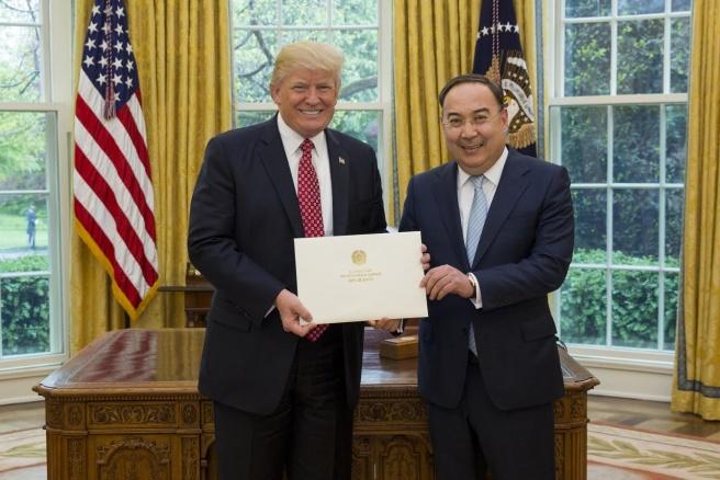 Казыханов и Трамп