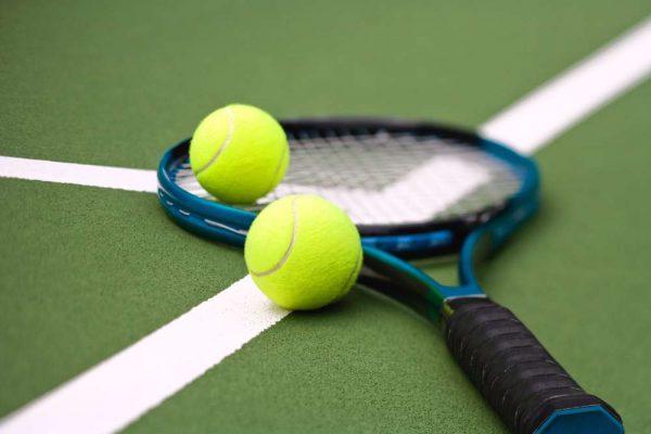 теннисная ракетка, теннисный мячик