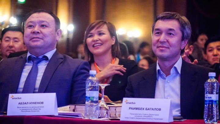 вице-министр по делам религий и глава компании Raimbek