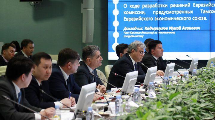 Пограничный кодекс ЕАЭС вступит всилу в 2018