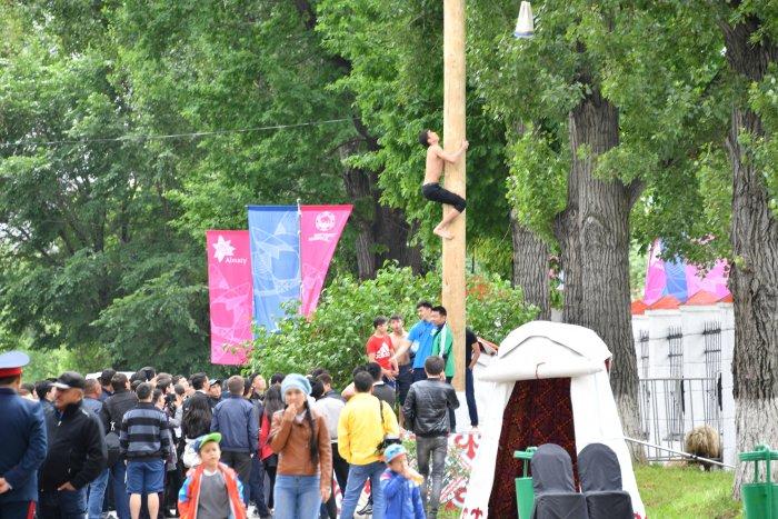 "фестиваль ""улы дала ойындары"" на ипподроме алматы"