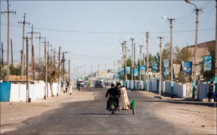 Улица в Муйнаке