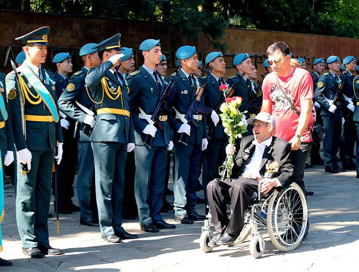 Фото Бориса Бузина, День Победы, ветераны, Байбек