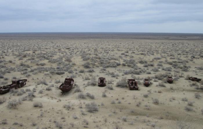 Кладбище кораблей под Муйнаком