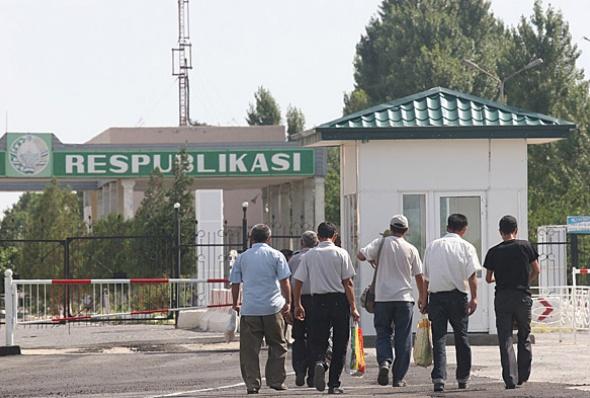 Граница Узбекистан