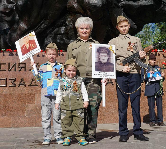 Фото Бориса Бузина, День Победы, бессмертный полк