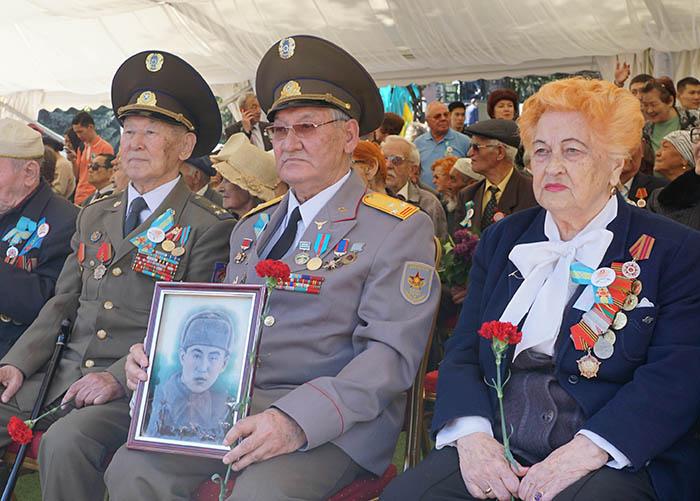 Фото Бориса Бузина, День Победы, ветераны
