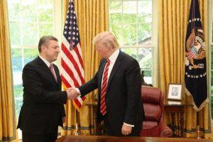 Квирикашвили и Трамп