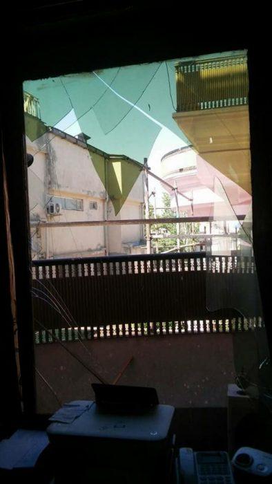 разрушения в посольстве Казахстана в Кабуле
