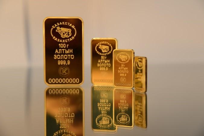 Казахстанцы смогут вбанках покупать слитки золота