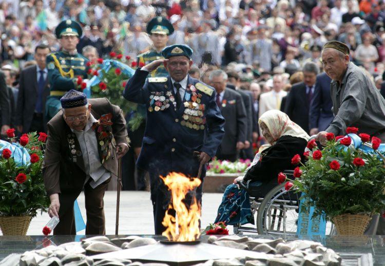 Алматы, День победы
