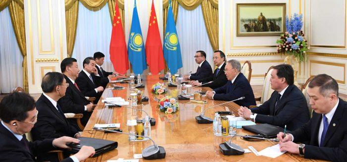переговоры Назарбаева и Си Цзиньпина