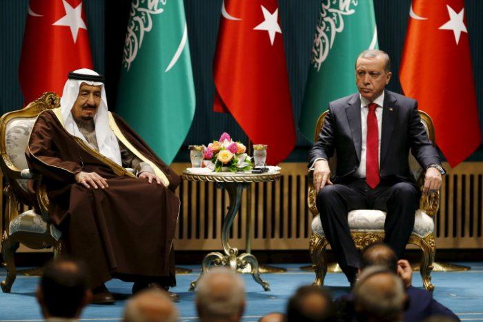 эрдоган и салман
