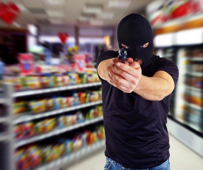 разбой в магазине