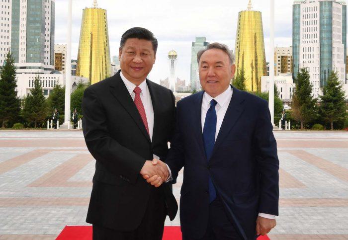 назарбаев и си цзиньпин