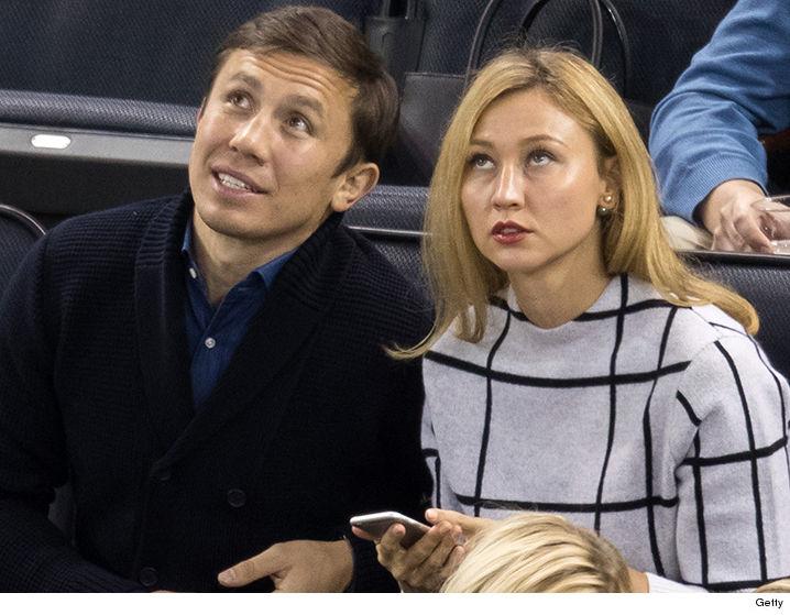 GGG с супругой