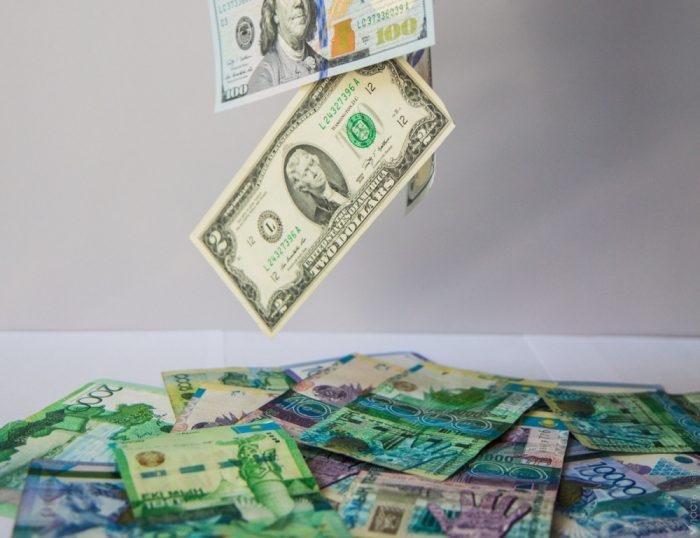 доллар, тенге