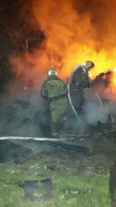 пожар в риддере