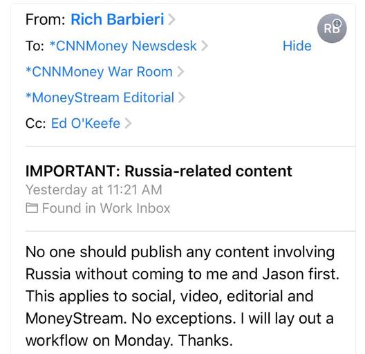 Репортеры CNN уволились из-за статьи о РФ — Медиа-скандал