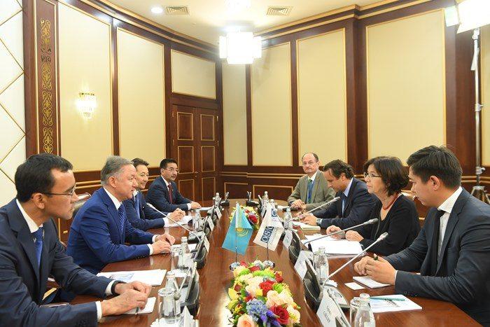 Нигматулин на встерче с представителями ОБСЕ