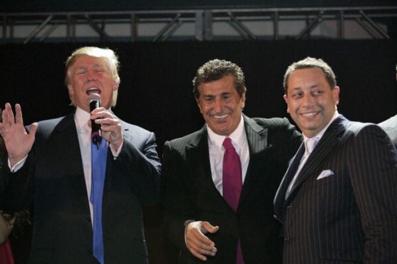Трамп, Ариф и Сатер