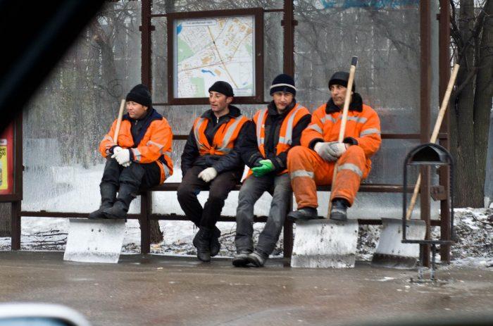 Трудовые мигранты в российском городе