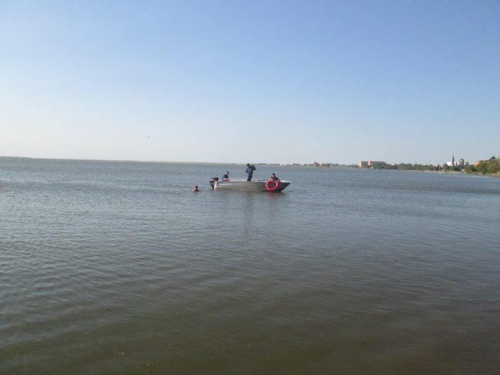 спасение на озере копа