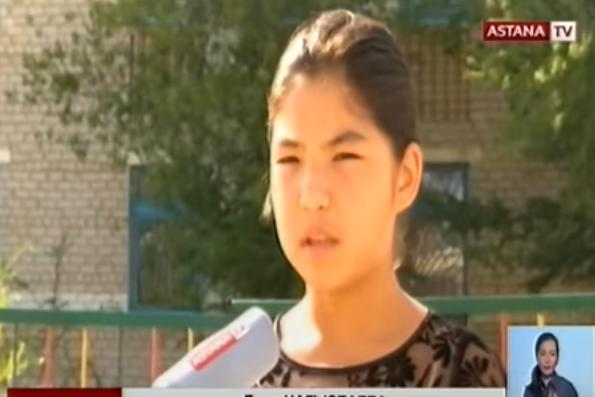 """Дина Нагызбаева. Кадр телеканала """"Астана"""""""