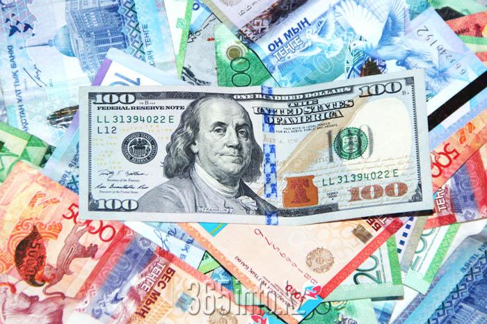 тенге, доллар