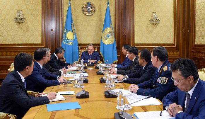 назарбаев акорда совещание по реформе правоохранительной системы