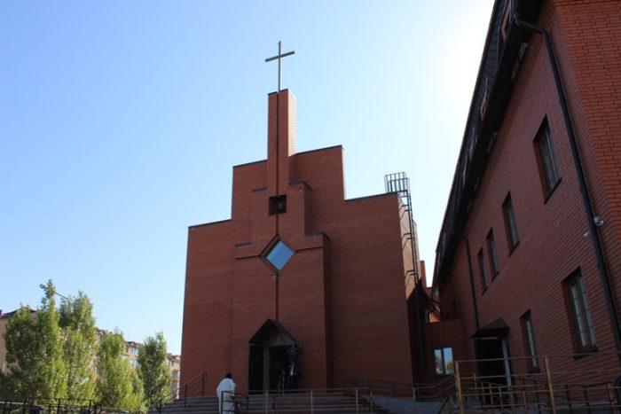 новая церковь лютеран в астане