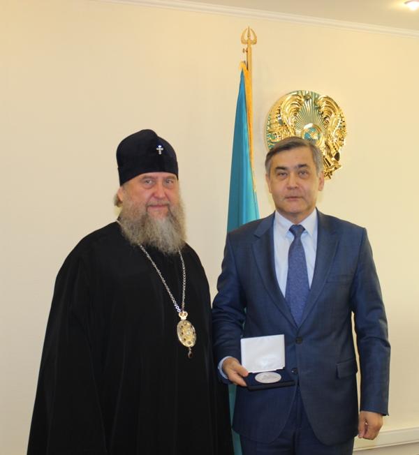 ермекбаев и митрополит александр