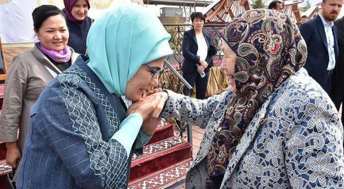 эмине эрдоган в астане