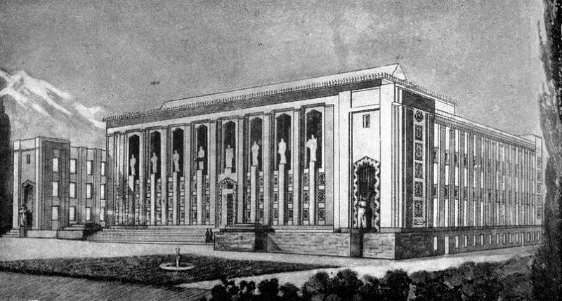 Проект библиотеки им Пушкина