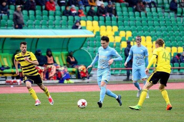 Тобол - Астана, ничья