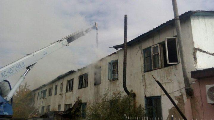 Пожар вмногоквартирном доме вАлматинской области устранили спустя практически 2 часа