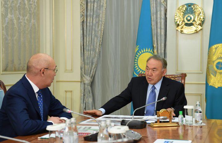 Келимбетов и Назарбаев