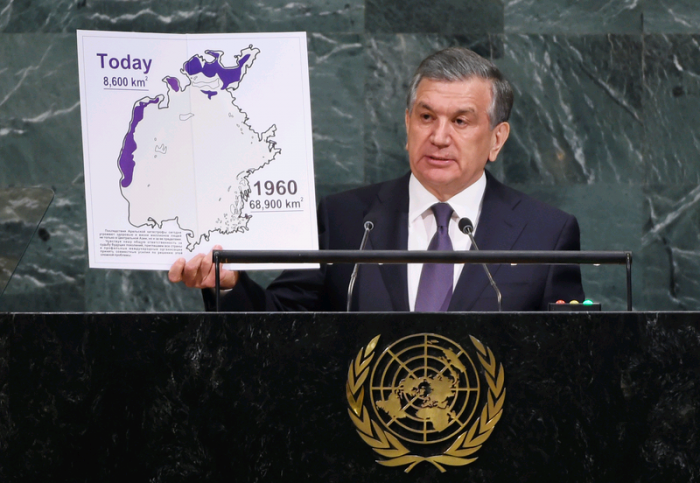 Шавкат Мирзиёев на Генассамблее ООН