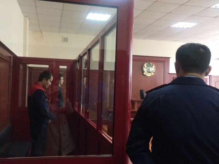 Кулымбетов на суде