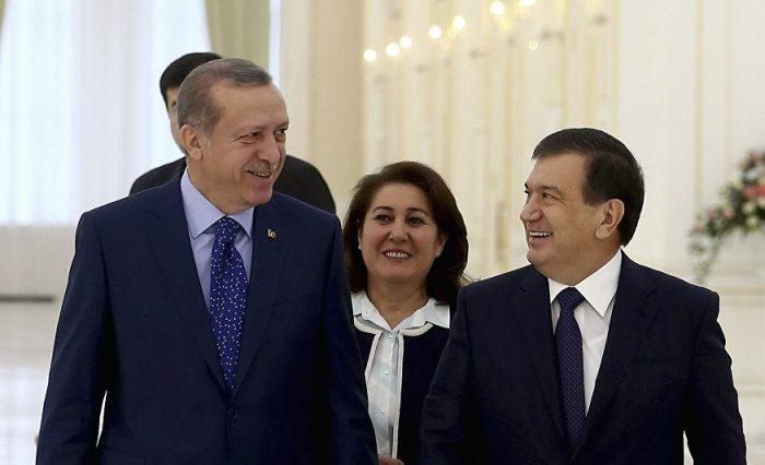 мирзиёев и эрдоган