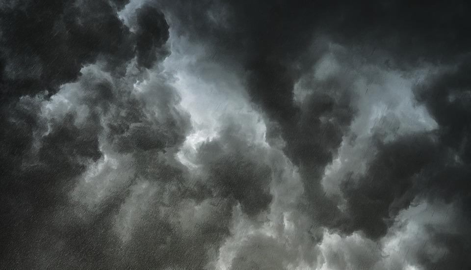 плохая погода шторм тучи