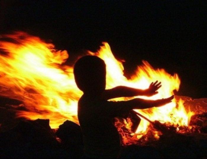 пожар дети