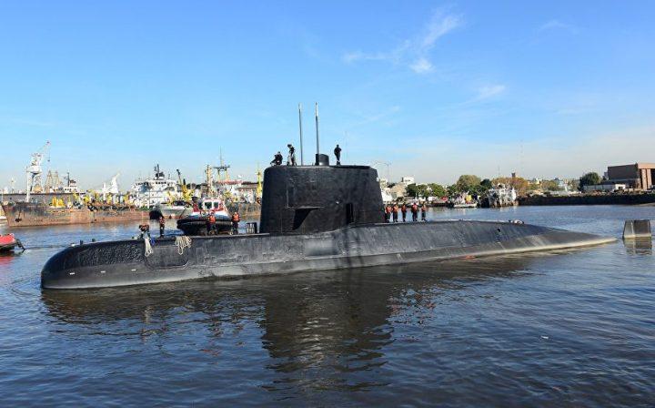 Экипаж пропавшей аргентинской подлодки оставил сообщение