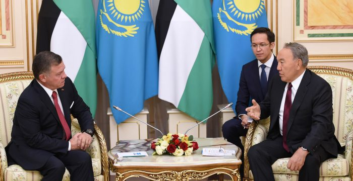 назарбаев и король иордании